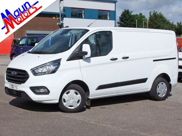 2020 (70) Ford Transit Custom 300 TDCi 105PS Trend, Euro 6, SWB, Low Roof Panel Van, One Owner, FSH, DAB For Sale In Sutton In Ashfield, Nottinghamshire