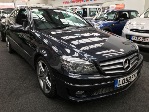 2009 (58) Mercedes-Benz CLC 220 2.2 CDI Diesel Sport Auto *12 MONTHS MOT, FULLY SERVICED & GUARANTEED* For Sale In Thornton-Cleveleys, Lancashire
