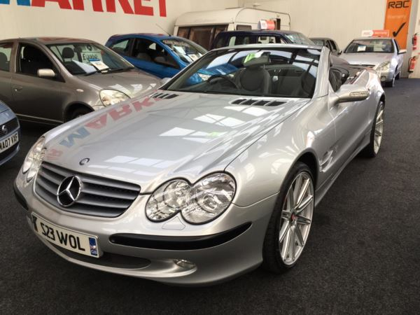 2002 (52) Mercedes-Benz SL Series SL 500 Auto From £11950+Retail Package For Sale In Thornton-Cleveleys, Lancashire