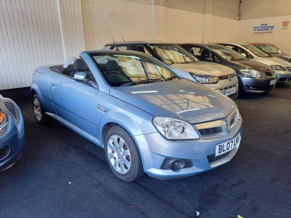 2007 (07) Vauxhall Tigra 1.4i 16V For Sale In Thornton-Cleveleys, Lancashire