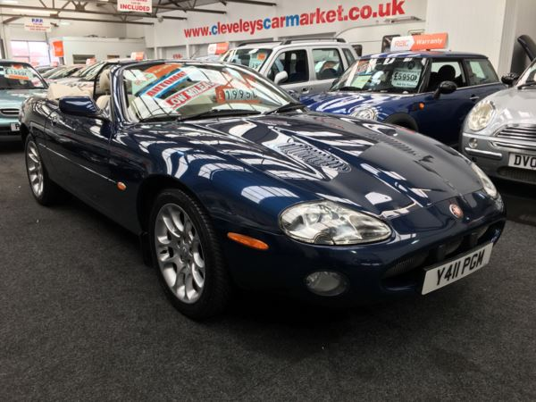 2001 (Y) Jaguar XKR 4.0 Supercharged 2dr Auto For Sale In Thornton-Cleveleys, Lancashire