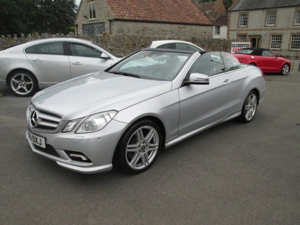 2010 (10) Mercedes-Benz E Class E250 CGI BlueEFFICIENCY Sport 2dr Tip Auto For Sale In Ilchester, Somerset