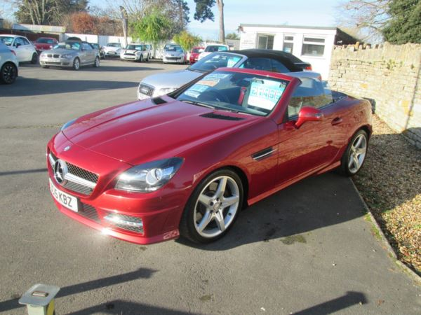 2015 (15) Mercedes-Benz SLK SLK 250d AMG Sport 2dr Tip Auto For Sale In Ilchester, Somerset