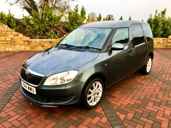 2014 (14) Skoda Roomster 1.2 TSI 105 SE 5dr DSG Pan Sunroof For Sale In Box, Wiltshire