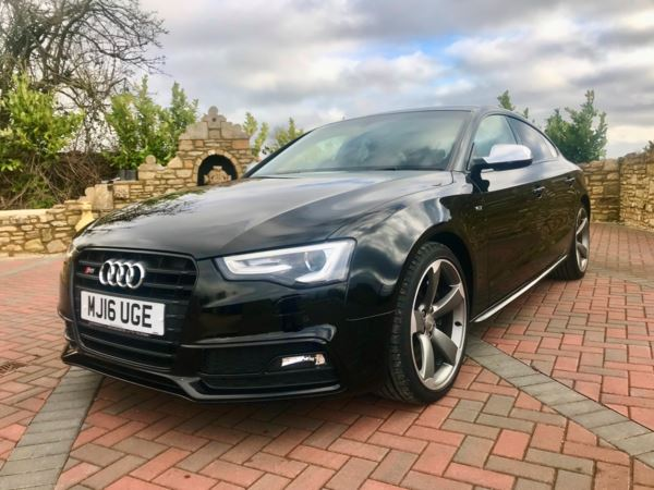 2016 (16) Audi A5 S5 Quattro Black Edition 5dr S Tronic, B&O Sound System. For Sale In Box, Wiltshire