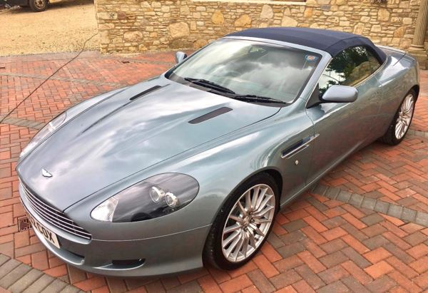 2006 (02) Aston Martin DB9 2dr Sportshift 2 Owners From New Stunning! For Sale In Box, Wiltshire