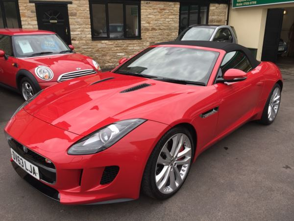 Used Jaguar F-Type 3 0 Supercharged V6 S Auto Stunning! 2