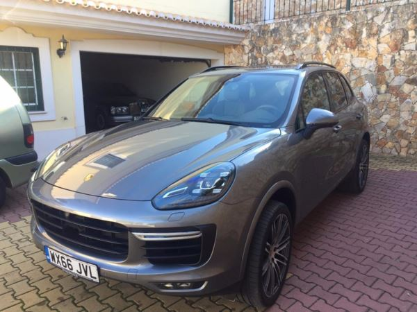 2017 (66) Porsche CAYENNE TURBO AUTO Left Hand Drive LHD VAT Q For Sale In Box, Wiltshire