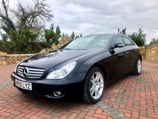 2005 (05) Mercedes-Benz CLS CLS350 V6 Petrol 4dr Tip Auto 1 Owner, MB Dealer Serviced From New For Sale In Box, Wiltshire