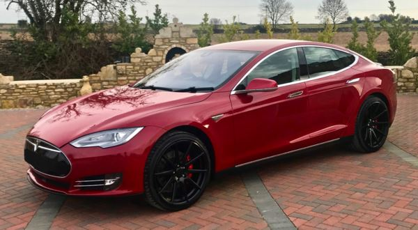 2014 (02) Tesla Model S P85 Performance 85 KWh For Sale In Box, Wiltshire