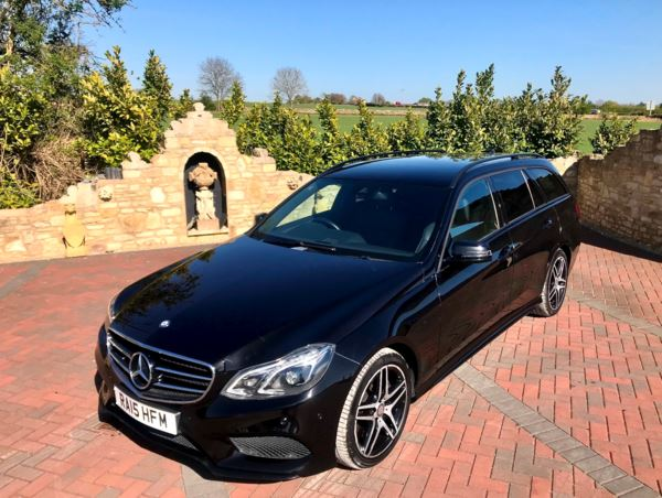 2015 (15) Mercedes-Benz E Class E350 BlueTEC AMG Night Edition 5dr 9G-Tronic For Sale In Box, Wiltshire