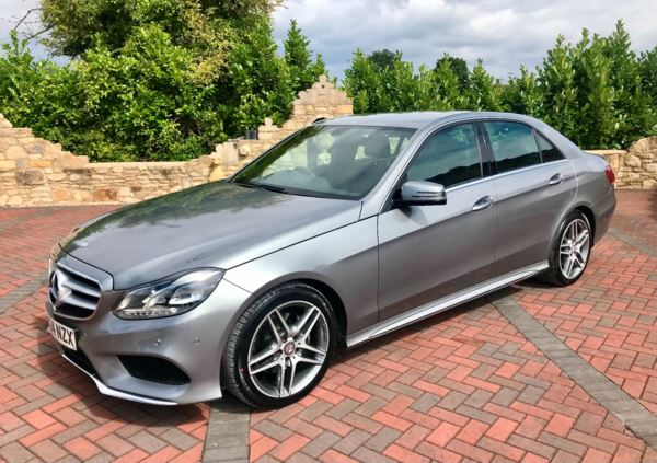 2014 (64) Mercedes-Benz E Class E300 BlueTEC Hybrid AMG Sport 4dr 7G-Tronic 1 Owner, Low Miles For Sale In Box, Wiltshire