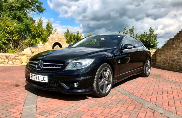 2007 (07) Mercedes-Benz CL CL 65 2dr Bi-Turbo Auto £158500 New! For Sale In Box, Wiltshire