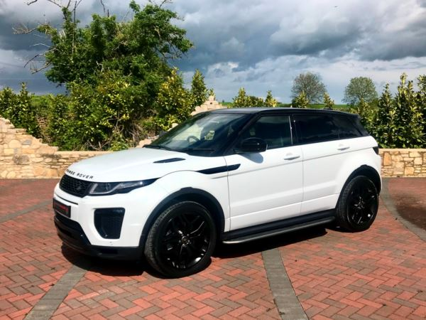 2018 (18) Land Rover Range Rover Evoque 2.0 Ingenium Si4 HSE Dynamic 5dr Auto 1 Owner, Black Pack For Sale In Box, Wiltshire