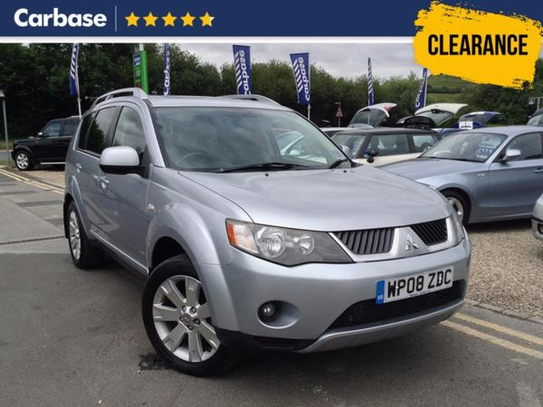 (2008) Mitsubishi Outlander 2.0 DI-D Elegance 5dr - SUV 7 Seats Satellite Navigation - Luxurious Leather - Bluetooth Connection