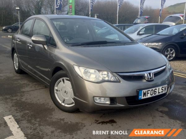 (2006) Honda Civic 1.3 IMA Hybrid ES Saloon 4dr CVT £10 Tax- Hybrid - Low Miles - Climate Control - Cruise - Full Leather
