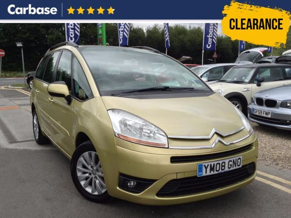 (2008) Citroen C4 Grand Picasso 1.6HDi 16V VTR Plus 5dr EGS - MPV 7 Seats Cruise Control - Air Conditioning - Low Mileage