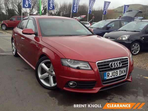 (2009) Audi A4 2.0 TDI 143 S Line Luxurious Leather - S Line - 6 Speed