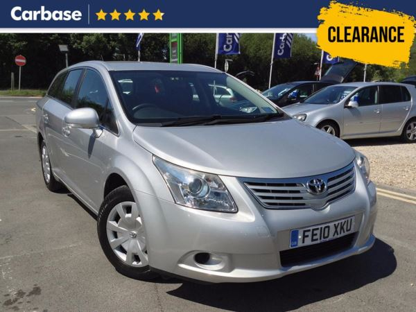 (2010) Toyota Avensis 2.0 D-4D T2 5dr Estate Air Conditioning - 2 Owners - Aux Music - 11 Service stamps