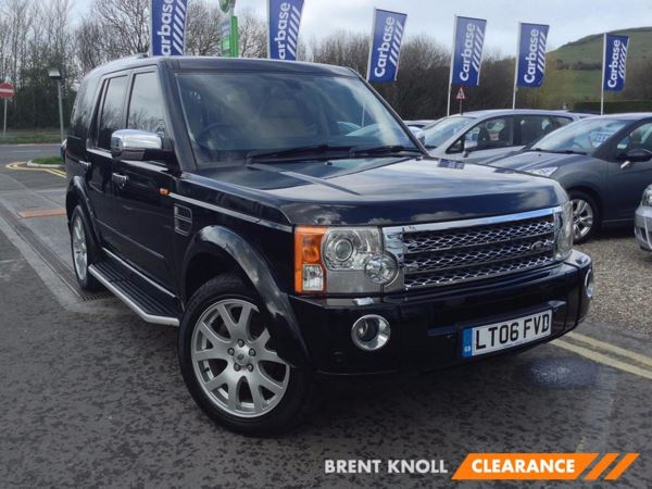 (2006) Land Rover Discovery 2.7 Td V6 HSE 5dr Auto Panoramic Roof - Satellite Navigation - Luxurious Leather