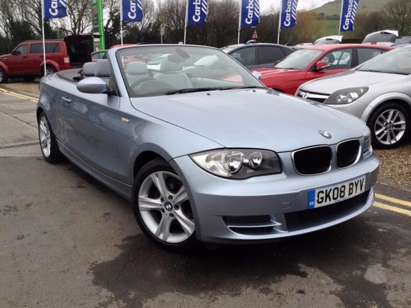 (2008) BMW 1 Series 118i SE 2dr Convertible Luxurious Leather - Ultra Low Miles