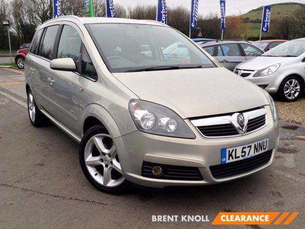 (2007) Vauxhall Zafira 1.8i SRi - MPV 7 SEATS Air Conditioning - ISOFIX - 7 Seats - Alloy Wheels