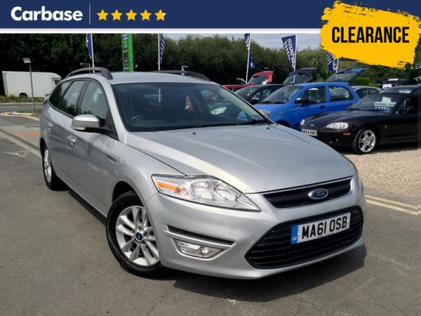 (2011) Ford Mondeo 1.6 TDCi Eco Zetec 5dr [Start Stop] Estate Bluetooth Connection - £30 Tax - Aux MP3 Input - Cruise Control - 6 Speed