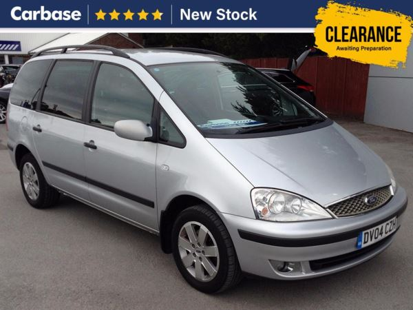 (2004) Ford Galaxy 1.9 TD Zetec 5dr [130 PS] - MPV 7 Seats 6 Speed - Air Conditioning