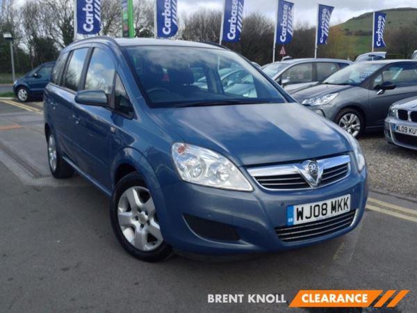 (2008) Vauxhall Zafira 1.6i Exclusiv - MPV 7 SEATS Parking Sensors - Air Conditioning - 7 Seats