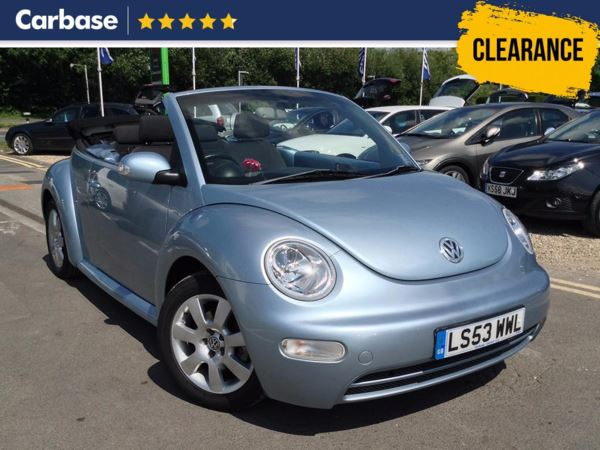 (2003) Volkswagen Beetle 2.0 2dr Tip Auto Air Conditioning - Alloys - Long MOT