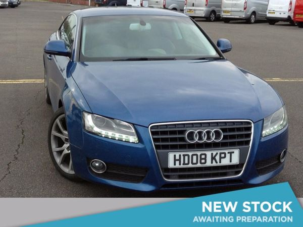 (2008) Audi A5 1.8T FSI Sport 2dr Satellite Navigation - Parking Sensors - 6 Speed - Air Conditioning