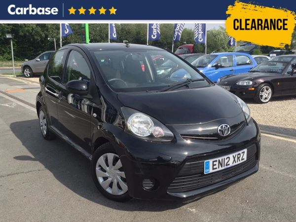 (2012) Toyota AYGO 1.0 VVT-i Ice 5dr MP3 Input - Zero Tax - Air Conditioning