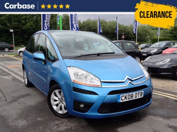 (2008) Citroen C4 Picasso 1.6HDi 16V VTR Plus 5dr - MPV 5 Seats Cruise Control - Air Conditioning