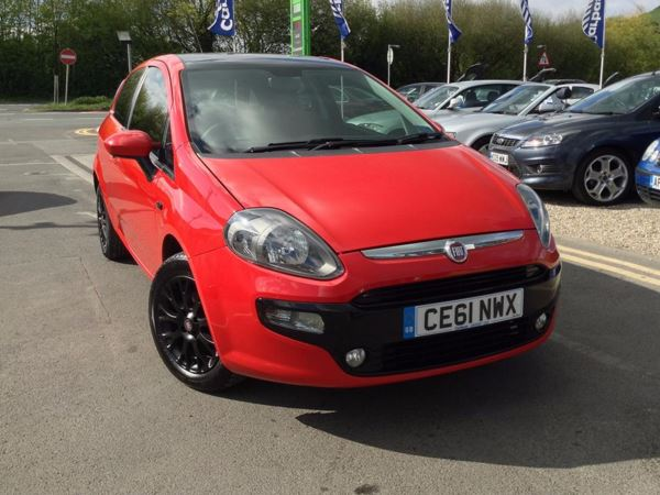 (2011) Fiat Punto Evo 1.2 MyLife 3dr Bluetooth Connection - Air Conditioning - Alloy Wheels