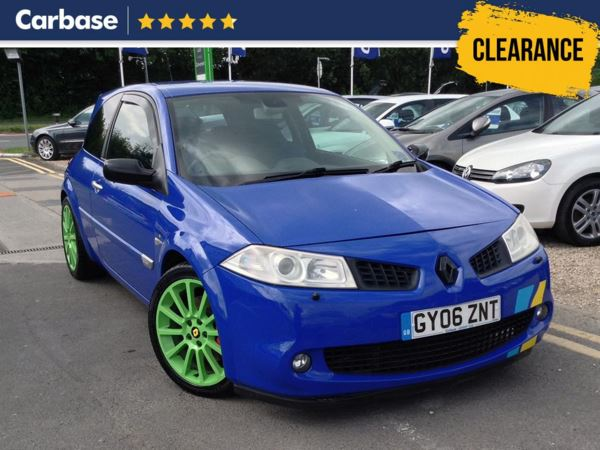 (2006) Renault Megane 2.0 T 16V Renaultsport 225 F1 Team 3dr Luxurious Leather - Rain Sensor - Cruise Control - 6 Speed - Air Conditioning