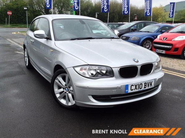 (2010) BMW 1 Series 116i [2.0] Sport 3dr £2085 Of Extras - Parking Sensors - Aux MP3 Input - Rain Sensor - 6 Speed