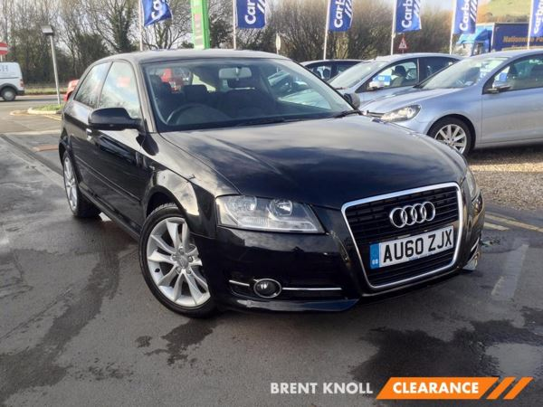 (2010) Audi A3 2.0 TDI Sport 3dr [Start Stop] Bluetooth Connection - £30 Tax - Parking Sensors - Aux MP3 Input - 6 Speed