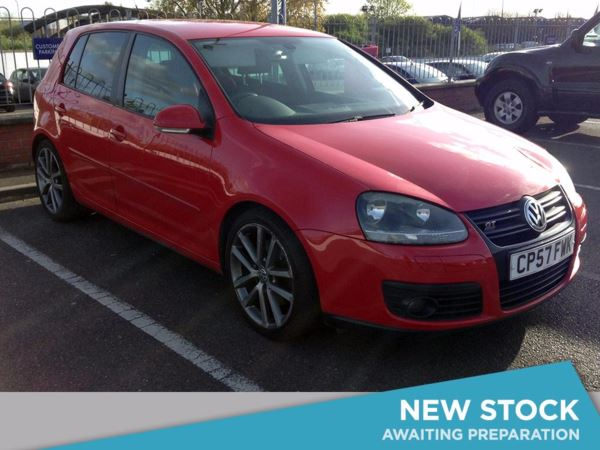 (2007) Volkswagen Golf 2.0 GT Sport TDI 170 DPF 5dr Rain Sensor - 6 Speed - Climate Control - Air Conditioning