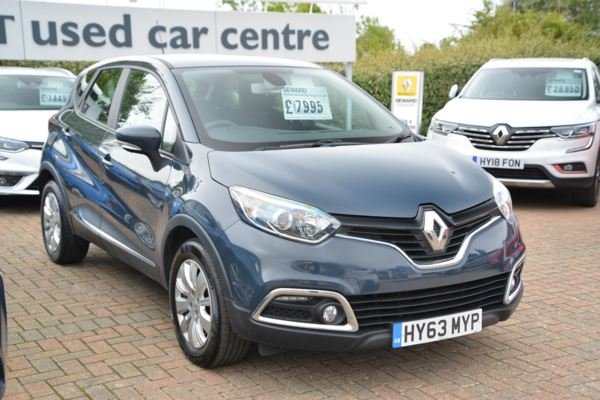2013 (63) Renault Captur 1.5 dCi 90 Expression+ Energy For Sale In Portsmouth, Hampshire