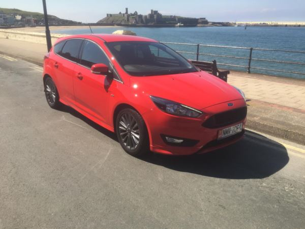 2018 Ford Focus 1.0 EcoBoost 140 ST-Line Navigation 5dr For Sale In Peel, Isle of Man