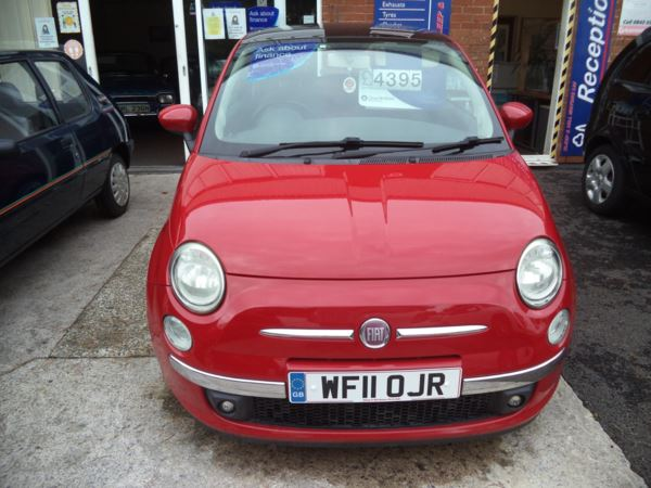 2011 (11) Fiat 500 0.9 TwinAir Lounge 3dr For Sale In Saltash, Cornwall