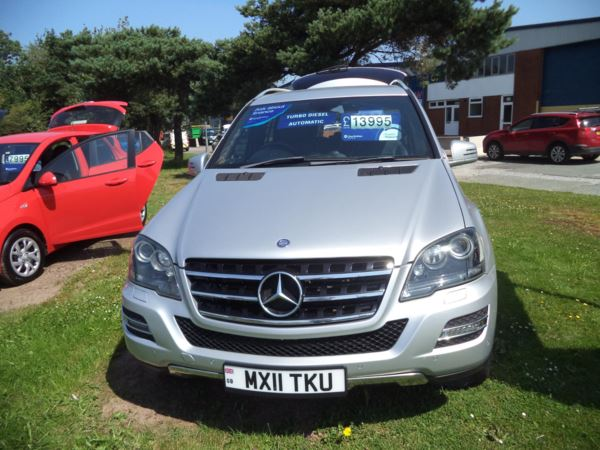 2011 (11) Mercedes-Benz M Class ML350 CDI BlueEFFICIENCY Grand Edition 5dr TipAuto For Sale In Saltash, Cornwall