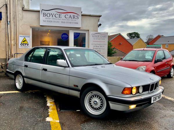 1990 (G) BMW 7 Series 735i SE 4dr Auto For Sale In Newton Abbot, Devon