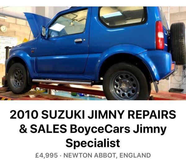 2003 (52) Suzuki Jimny 1.3 Special 3dr For Sale In Newton Abbot, Devon