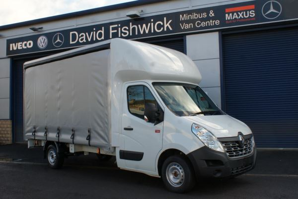 Renault Master dci 135 Energy Curtain Side Van For Sale In Colne, Lancashire