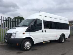 2014 14 Ford Transit T430 135 17 Seat Wheelchair Accessible Minibus 5 Doors Minibus