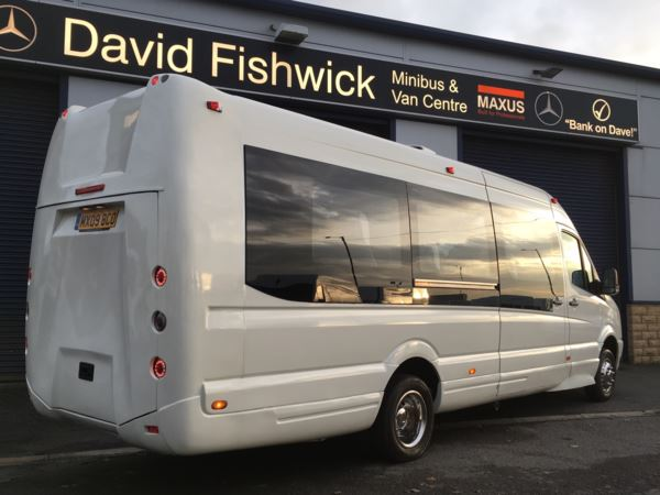 2009 (09) Volkswagen Crafter CR50 TDI 136 17 Seat Super Extended Luxury Minicoach For Sale In Colne, Lancashire
