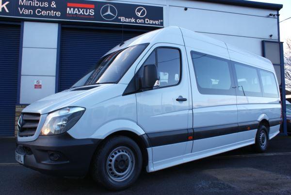 2015 (65) Mercedes-Benz Sprinter 313 CDI 17 Seat Minicoach For Sale In Colne, Lancashire