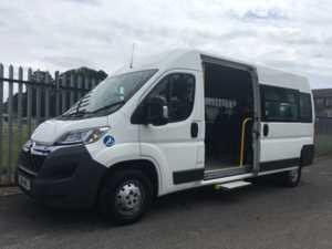 2016 16 Citroen Relay 350 HDi 130 Enterprise 11 Seat Wheelchair Accessible Minibus 5 Doors