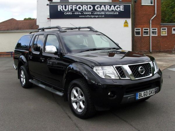 2011 (60) Nissan Navara 2.5 DCI TEKNA 190 4WD CONNECT PREMIUM DOUBLE CAB 114K S/HISTORY For Sale In Farnsfield, Nottinghamshire